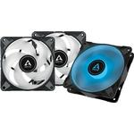 Arctic P12 PWM PST RGB 0dB (Black) 3-pack