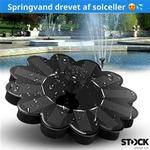 Stock Solcelle Springvand