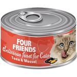 Four Friends Med Tun & Muslinger