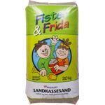 Skalflex Fister & Frida, Sandkassesand, 20 kg, Lys beige, 20 kg,Vasket og siet kvartssand (På lager i butik)