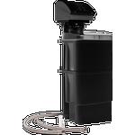 Aqua Danmark DELFIN blødgøringsanlæg med to tanke til regenerering. Ydeevne 1,5 m3/t.