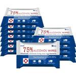 Alcohol wipes 75% desinfektionsservietter 17x12cm