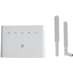Huawei b310s-22 høj hastighed lte cat4 150mbps 4g trådløs gateway wifi router + 2stk antenne - As Seen on Image