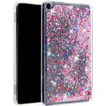 Amazon Fire HD 8 kviksand glitter etui - Flerfarvet