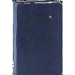 Bibelen i blødt kunstlæder, mørkeblå