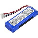 Batteri Til JBL Charge 3 2016 Version Højtaler, 6000mAh (Kompatibelt)