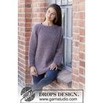 Simple Mindby DROPS Design - Bluse Strikkeopskrift str. S - XXXL