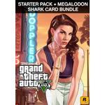 Gta shark megalodon pc PC spil GRAND THEFT AUTO V: PREMIUM ONLINE EDITION & Megalodon Shark Card Bund