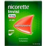Nicorette Nikotin Invisi Plaster - 10mg/16t - 14 stk.