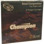Kent - Champion Club Steel 28 g Flugtskydningspatroner (25 stk.) Haglstørrelse 7.5 12 / 70 Afhentning i Viby J