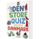 Den Store Quiz Om Lille Danmark - Bog