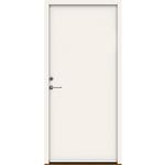 Swedoor hvid facadedør P-1200 948x2115x115mm venstre indadg. NCS 0502-Y glat pladedør