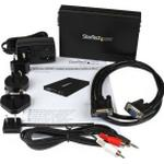 StarTech.com VGA to HDMI Converter - Analog VGA to digital HDMI Scaler with Audio - 1920x1200 (VGA2HDPRO2) - Video transformer - HDMI, VGA - sort - for P/N: SVA5M3NEUA