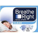 Breathe Right Nasal Strips Small/Medium 10 Clear Strips