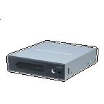 "4 bay El-Artikler Akasa Vegas RGB Front Control Panel, 3.5"" bay, RGB, 4 Channels, LED Di"