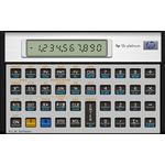 HP 12CPL financial calc. Platinum (Nordic), Damaged packagin