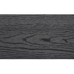 Wimex brædde Nordic Fence 16x160x1800mm Classic Dark komposit m/træstruktur