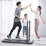 WalkingPad R1 Pro Treadmill 2 in 1 Smart Folding Walking and Running Machine APP Foot Step Speed Control Outdoor Indoor Fitness Exercise Gym Alternative EU Version From Xiaomi Ecosystem - Silver