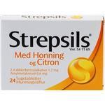 Strepsils Sugetabletter med Honning & Citron - 24 stk.