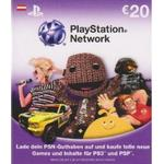 Playstation network 12 PlayStation 4 spil PlayStation Network Card 20€