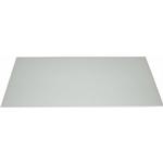 Silverline stænkplade glas 600x450 mm - Hvid