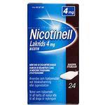 Nicotinell Tyggegummi (Lakrids) 4mg - 24 stk