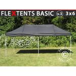 Foldetelt FleXtents Easy up pavillon Basic v.3, 3x6m Sort