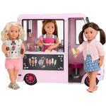 Our Generation Ice cream truck, lyserød