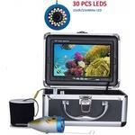 Undervandsfiskekamera, fishfinder-lysdioder + 15 infrarød lampe til is / havfiskeri