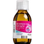"Bromhexin ""DAK"" oral opløsning 150 ml."