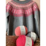 Rosir, Islandsk sweater, strikkeopskrift