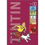 Adventures of Tintin 3 Complete Adventures in 1 Volume: WITH by Herge