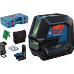 BOSCH GCL 2-50 G Kombilaser, 4x AA Battery + Koffer 0601066M02