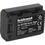 Hähnel HL-XZ100 - Batteri - Li-Ion - 2000 mAh - 14.4 Wh - for Sony a6600 a7 III a7C a7R III a7R IV a7s III a9 a9 II
