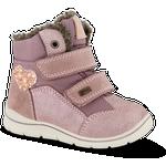 Skofus Babystøvle Rosa - Str. 24 - Ruskind/gummi/tekstil