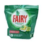 Fairy opvasketabs lemon - 22 stk