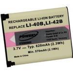 Batteri til Undervandskamera Sealife Typ SL7014