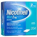 Nicotinell Tyggegummi (Mint) 2mg - 204 stk