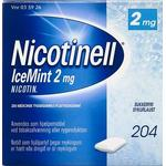 Nicotinell Icemint - 2 mg. 204 stk.