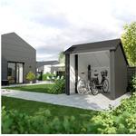 Plus cykelskur ubehandlet 5,7 m2 238 x 238 x 250 cm