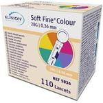Klinion Softfine Lancet, Steril, 28G - 110 stk