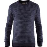 Fjällräven Mens Övik Nordic Sweater, S, DARK NAVY/555