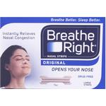 Breathe Right Nasal Strips 30 Large