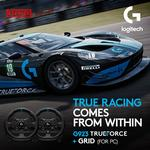 Logitech - G923 Racing Wheel PS4 and PC + Grid Game bundle