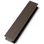 Wimex kompositstrø 25x40x3600mm sort WPC understøttelse: fast underlag
