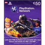Playstation network 12 PlayStation 4 spil PlayStation Network Card 50€