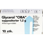 Glycerol Suppositorier - 10 Stik