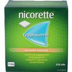 Nicorette fruitmint 2 mg 210 stk
