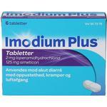 Imodium Plus 6 stk
