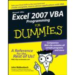 Excel 2007 VBA Programming For Dummies - Walkenbach John Walkenbach - 9780470142363